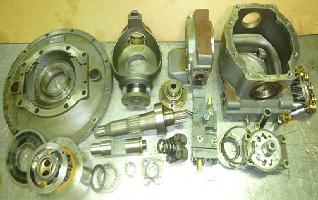 Réparation de pompes et moteurs hydrauliques